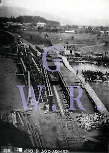Baryt Eisenbahn Foto - Weltkrieg 1914/18, Bild 32, Kriegsarchiv Österreich