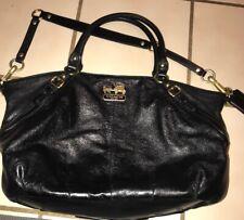 Coach Handle Leather Bag