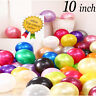 """10""""INCH METALLIC/Pearlised High Quality LATEX BALLOONS Decoration/Birthday/Party"""