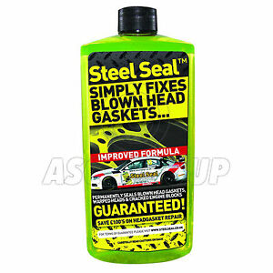 STEEL SEAL FOR ALL MODELS - FIXES BLOWN HEAD GASKETS PERMANENTLY - Add to Water