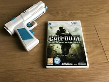 Call of Duty: Modern Warfare -- Reflex Edition (Nintendo Wii, With Zapper