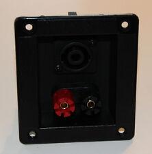 Lautsprecherterminal Schraub- und PA Anschluss Boxen Terminal Lautsprecher #2276