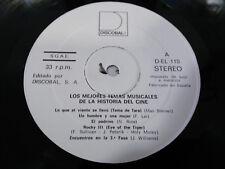 """LOS MEJORES TEMAS MUSICALES DE LA HISTORIA DEL CINE LP VINYL VINILO 12"""" 1983 VG"""