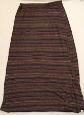 ELEMENT SKATE Woven Striped Multicolor LIGHTWEIGHT SKIRT Sz Small