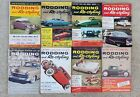 Vintage Rodding And Restyling Magazine Lot Of 8 All 1958