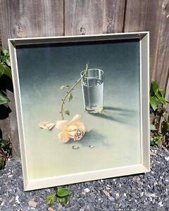 """Vintage Original Tretchikoff Framed Print """"The Weeping Rose"""""""