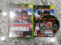 Greg Hastings' Tournament Paintball (Microsoft Xbox, 2004) Complete - FREE SHIP