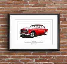 Volvo Amazon 122S Limited Edition Fine Art Print A3 size