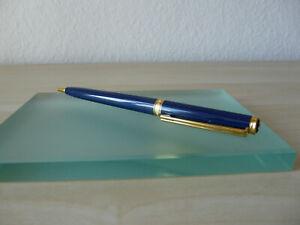 MONTBLANC Drehkugelschreiber Noblesse Oblige blau nicht benutzt