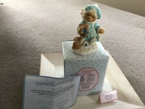 """Cherished Teddies Rebecca """"let heaven and nature sing"""" Ornament"""