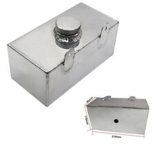 Silver Car Windshield Washer Tank Water Cooler Box Intercooler Reservoir Bottle