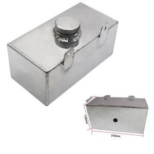 Silver Car Windshield Washer Tank Water Cooler Box Intercooler Reservoir Bottle