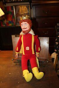 Vintage 1980 Burger King Knickerbocker Stuffed Plush Doll Magical