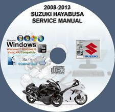 Suzuki GSX1300R Hayabusa 2008 2009 2010 2011 2012 2013 Workshop Service Manual