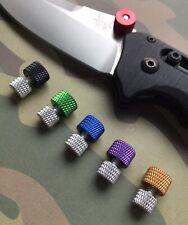 Benchmade Bedlam 860 - XL SILVER BACK Thumb Stud - Please Choose Colour