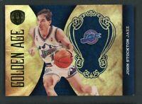 2011 John Stockton 062/299 Panini Gold Standard Golden Age #12