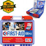 100 Piece First Aid Kit Emergency Medical Survival Bag Travel Home Car Camping