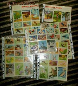 USA. 1951 & 1953 National Wildlife Conservation Stamps sheets ,blocks etc
