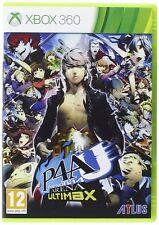 Persona 4 Arena Ultimax  XBOX 360    nuovo!!!