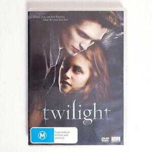 Twilight Movie DVD Region 4 AUS Free Postage - Drama Teen Romance