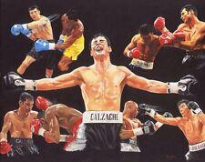 Boxing Joe Calzaghe Print