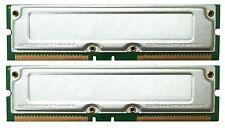 1GB 2 x 512MB PC800-40 RDRAM DELL 8200 RAMBUS RAM