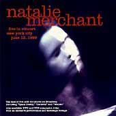 Natalie Merchant - Live in Concert (Cd, Digipak, Elektra) After the Gold Rush