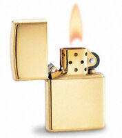 Zippo Solid Gold 18Kt Lighter In Cherrywood Box Limited Edition New In Box