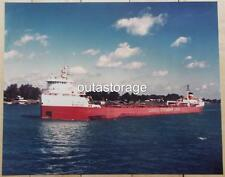 8 x10 color photo of the VINTAGE great lakes bulk carrier *SIMCOE* Canada laker