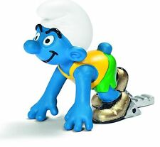 OLYMPIC SPRINTER SMURF OLYMPICS from 2012 by SCHLEICH THE SMURFS - 20741