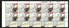 ISRAEL # 1228 LIBERATION OF CONCENTRATION CAMPS.   Full Mint Sheet.