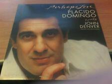 LP PLACIDO DOMINGO JOHN DENVER PERHAPS LOVE CBS 73592  VG+/M EUROPE PS 1981