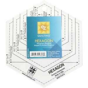 Hexagon Template   070659498060