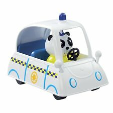 Peppa Pig PC Panda Police Car Vehicle Set With Figure Toy Playset