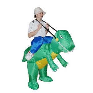 BRAND NEW -DINO Fancy Dress Fan Inflatable Costume Suit