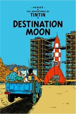 Destination Moon (The Adventures of Tintin) New Hardcover Book Herge