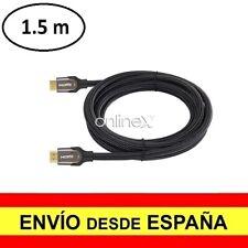Cable HDMI Macho 4k 3D Nylon Trenzado V2.0 Alta Velocidad 1.5 Metros a2826