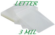 1000 Letter Size Laminating Laminator Pouches Sheet 3 Mil 9 x 11-1/2 Quality