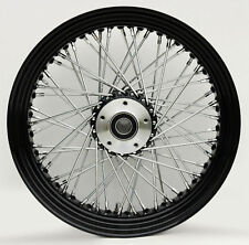 Black Rim Hub 16 x 3.5 60 Spoke Rear Wheel Rim Harley Touring Dyna Softail Xl