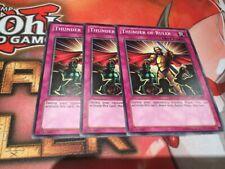 Yu-Gi-Oh 3x Thunder Of Ruler Mixed Sets (Mixed)