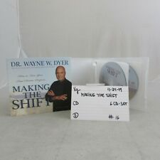 Making the shift- by Wayne W Dyer-  Very Good- CD -0424