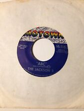 45 rpm- Abc by The Jackson 5