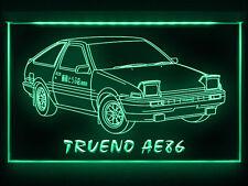 AC156 B 1983 Toyota Trueno AE86 LED Light Sign