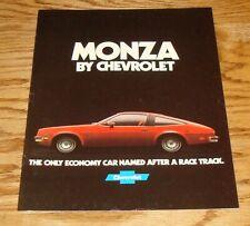 Original 1978 Chevrolet Monza Sales Brochure 2/78 Chevy 2+2 Sport Coupe