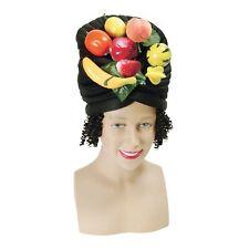 Adulte Déguisement Club Accessoire Fête de Caraïbes Femme Fruit Chapeau avec Lié