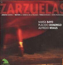 ZARZUELAS CD NEW Arrieta Marina Placido Domingo Maria Bayo Alfredo Kraus