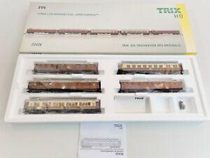Schnellzug Wagenset CIWL Orient ExpressTM, Trix H0 23426 OVP.