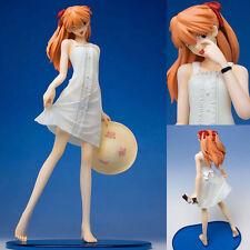 Evangelion Asuka Langley Summer White One Piece Dress Figure Organic JAPAN