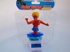 Solar Powered Flip Flap Dancing Bobble Surfers Blue