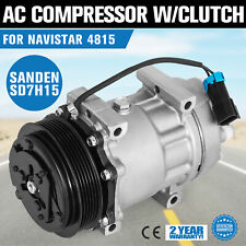 AC Compressor fit Ford 4815 International 4546 4481 4381 4300 Sanden Type